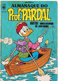 ALMANAQUE DO PROFESSOR PARDAL nº01 - EDITORA ABRIL